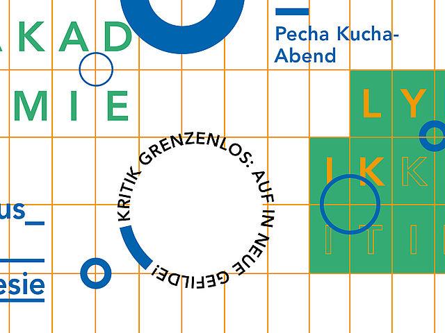PecheKucha Abende – Akademie für Lyrik